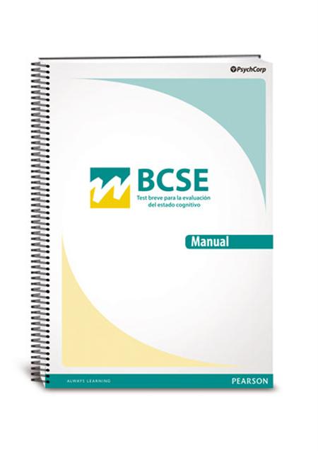 BCSE, Test Breve para la evaluación del estado cognitivo ...